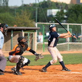 Eyes by Vladimir Gergel - Sports & Fitness Baseball