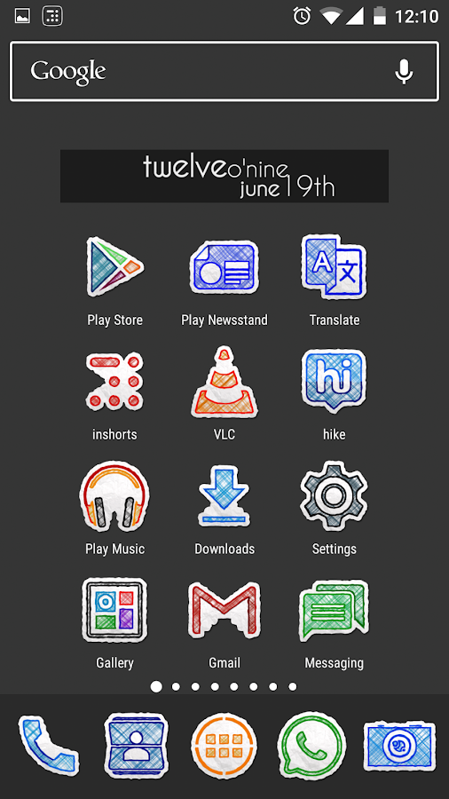 Doodle Draw Icon Pack Screenshot 3