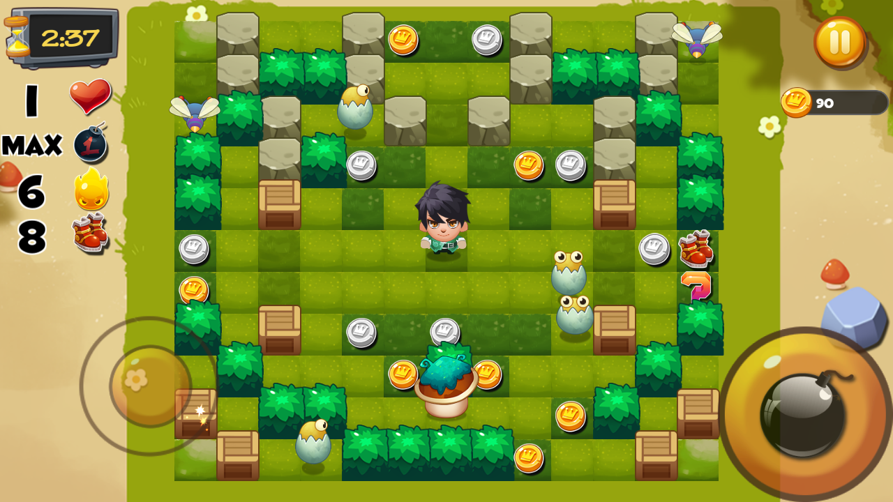 Bomber Heroes - Bomba game Screenshot 0