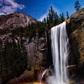 Vernal Falls by Olga Charny - Landscapes Waterscapes ( vernal falls )