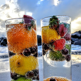 drinks for 2 along the western gulf by Jeffrey Lee - Food & Drink Fruits & Vegetables ( drinks for 2 along the western gulf )