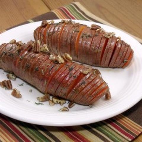 Hasselback Sweet Potatoes Recipe | Yummly