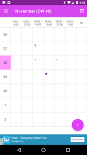 MigCalendar - Migraine Diary screenshot for Android
