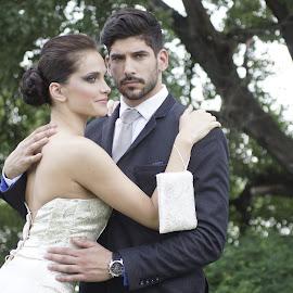 Wedding by Csaba Kabátka - Wedding Bride & Groom ( sony, budapest, bcs, bride, groom )