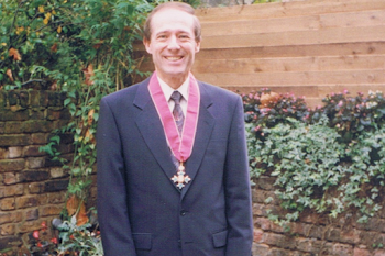 After Receiving my CBE, 1993