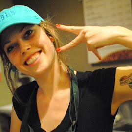 Barista tattoo by Prentiss Findlay - People Body Art/Tattoos ( coffee shop tattoo, barista tattoo, arm tattoo, tattoo, tattooed arm )