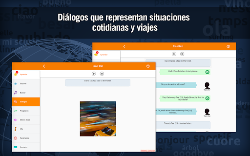 Aprender inglés gratis : vocabulario para hablar screenshot 9