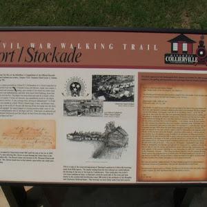 Collierville Fort/Stockade