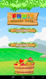 Fruit Memory Card - screenshot