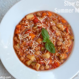 Slow Cooker Summer Vegetable Soup