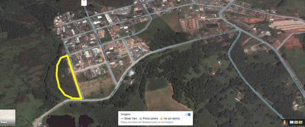Terreno residencial à venda, Campina da Barra, Araucária.