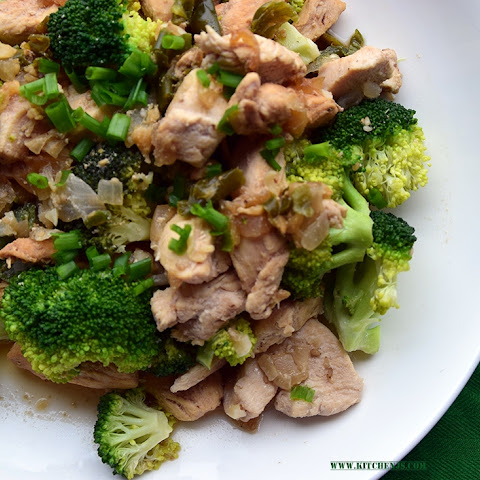 Clean eating Chicken Broccoli Stir- Fry
