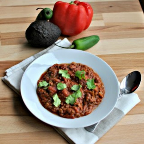 Spicy Saucy Slow Cooker Chili
