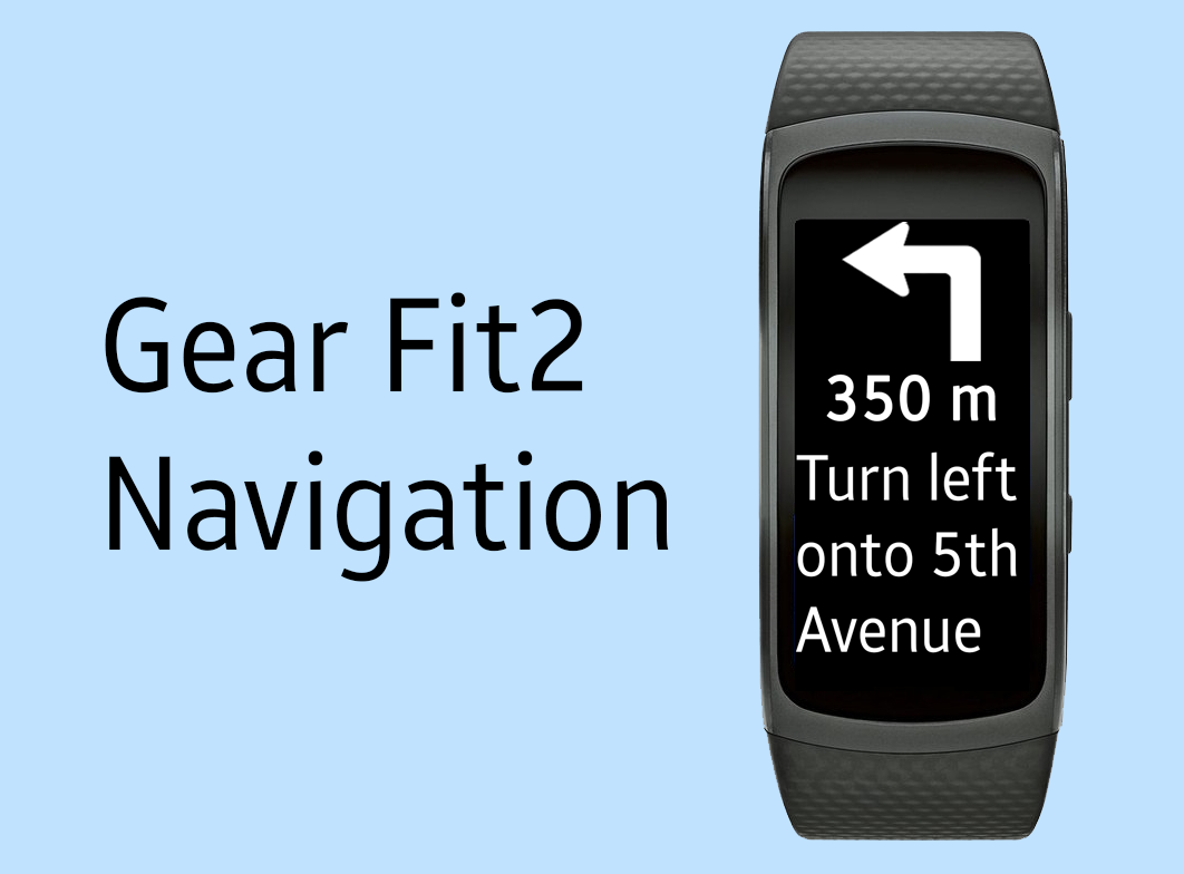 Gear Fit2 Navigation Screenshot 0