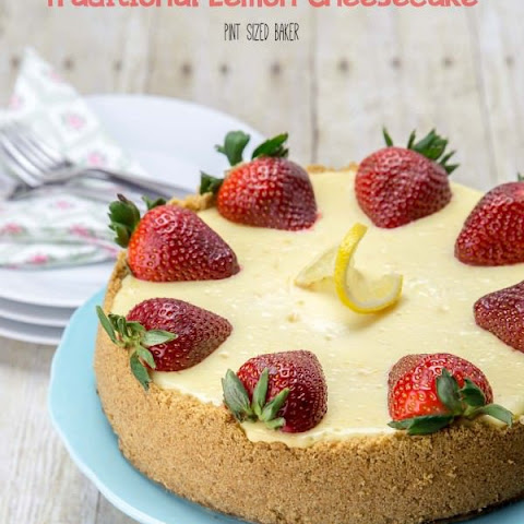 Traditional Lemon Cheesecake