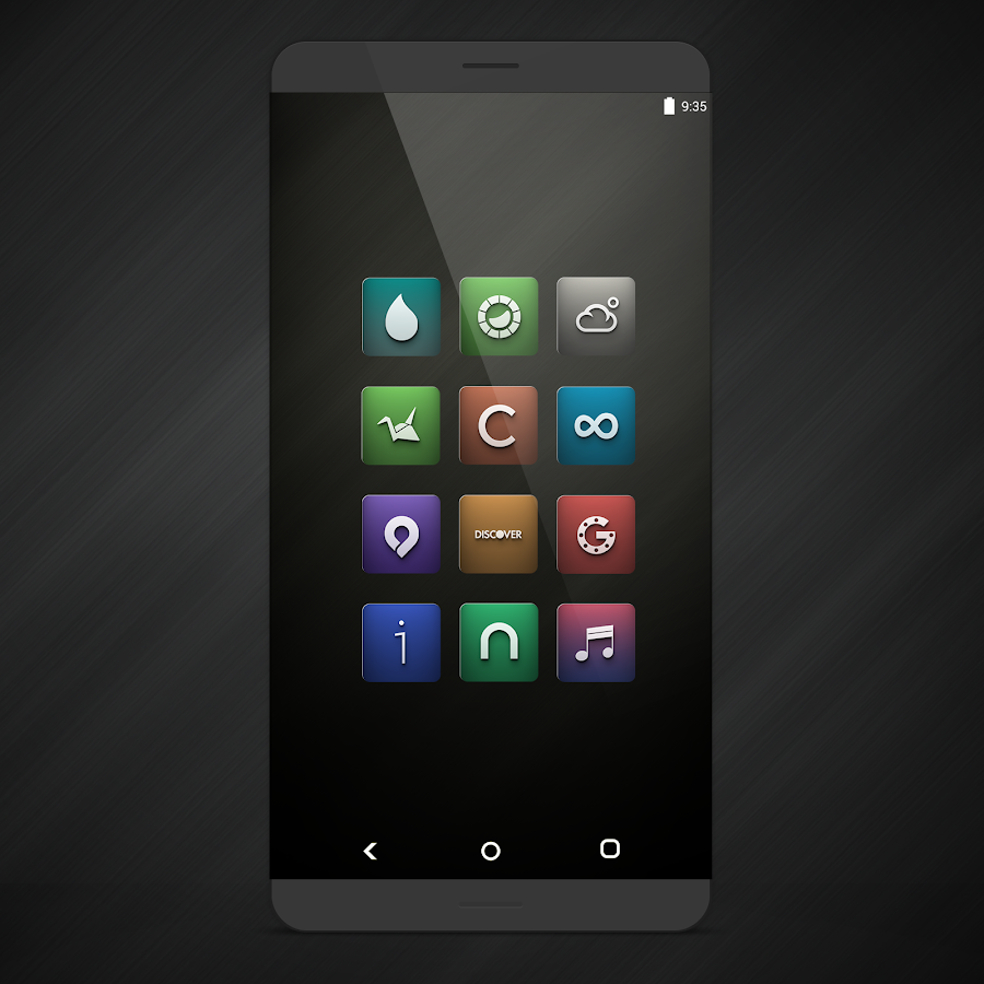 Orion UI Icon Pack Screenshot 1