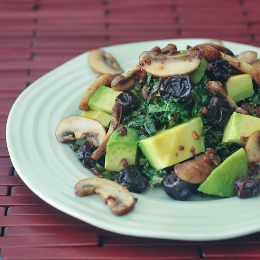 Kale And Smoked Bacon Salad With Zinfandel Vinaigrette Recipes ...