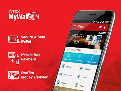Intex MyWallet(Beta Version) screenshot for Android
