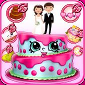 Game Wedding Cake Maker for shopkin APK for Windows Phone