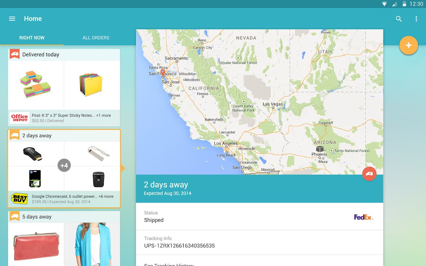 Slice: Package Tracker Screenshot 8