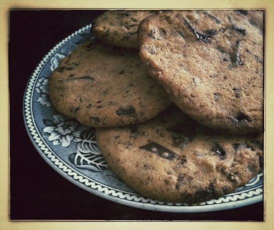 Chocolate, chili and ginger cookies