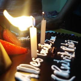 BIRTHDAY CAKE by Ashwin Tiwari - Food & Drink Cooking & Baking ( #birthdays, #cake, #youth, #party, #candles )