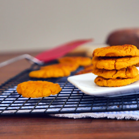 No Sugar Added Sweet Potato Cookies