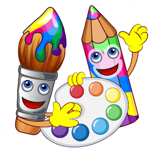 Coloring pages - drawing Icon