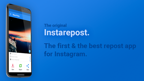 Repost - Photo & Video Repost APK for Bluestacks