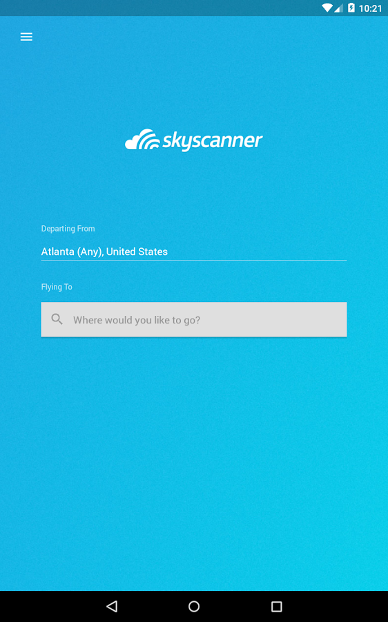 Skyscanner Screenshot 13