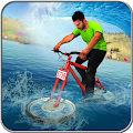 Game Beach Water Surfer Bicycle Racing Track Rider APK for Kindle