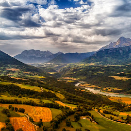 Alpe French by Stanley P. - Landscapes Travel