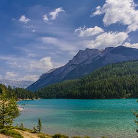 Alberta by Garces & Garces - Landscapes Mountains & Hills