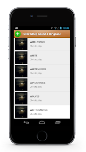 Relax Sleep Sounds & Ringtone - screenshot