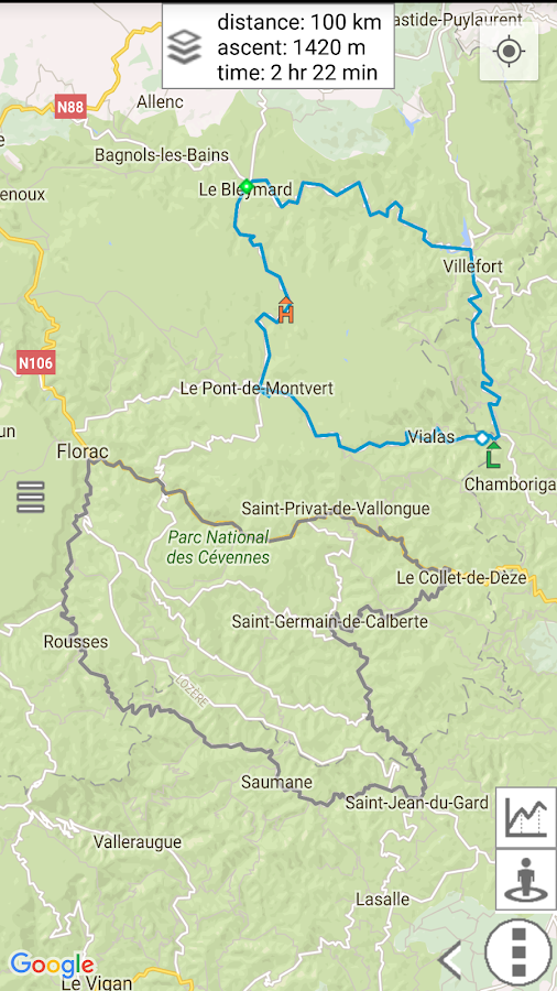 myRouteMap Screenshot 9