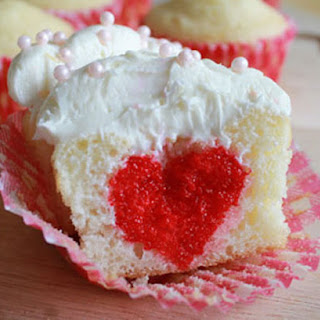 Redlicious Sweetheart Cupcakes