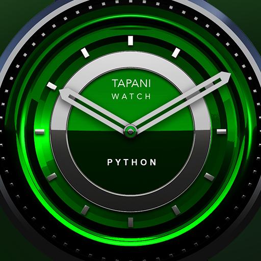 Phyton wear watch face