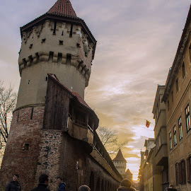 by Pixie Simona - Buildings & Architecture Public & Historical ( old wall, medieval fortress, old town, medieval architecture, architecture, old architecture, historic, old street, tower, medieval castle, medieval wall, medieval, medieval towers, wall,  )