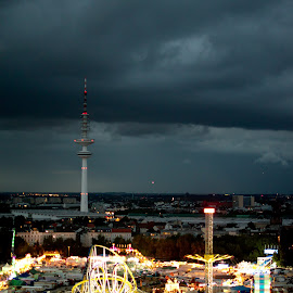 The Dom before the Storm by Andrej D - City,  Street & Park  Skylines