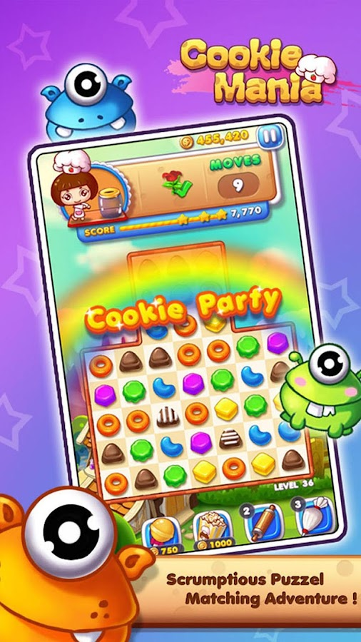 Cookie Mania - Halloween Sweet Game Screenshot 6