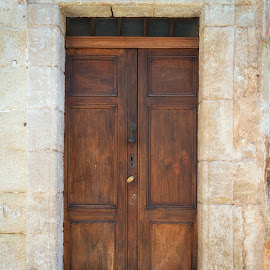 House No. 18 by Johannes Oehl - Buildings & Architecture Architectural Detail ( old, europe, wood, languedoc-roussillon, stone )