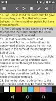 Screenshot of Bible Offline PRO