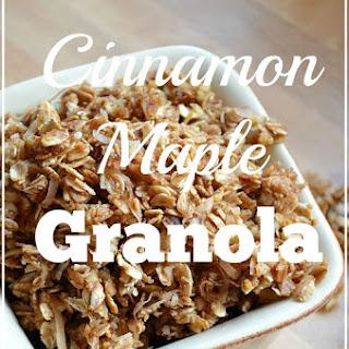 Maple Cinnamon Granola Recipes