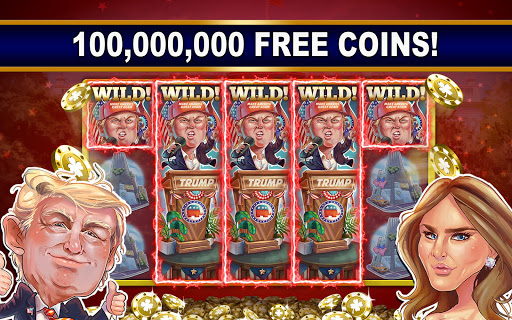 President Trump Free Slot Machines with Bonus Game screenshot 1