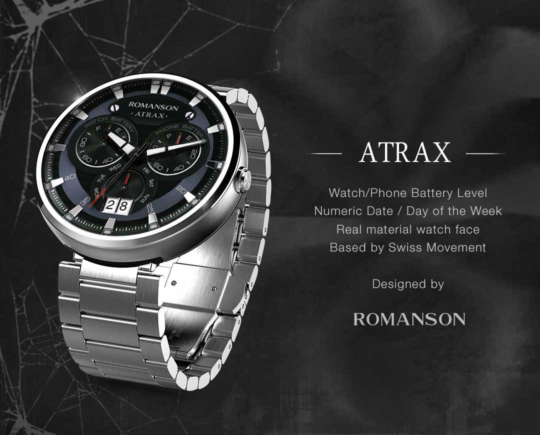 Atrax watchface by Romanson Screenshot 5