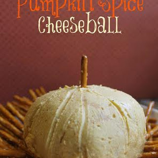Pumpkin Pie Spice Cheese Ball