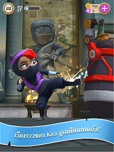 Clumsy Ninja- ภาพหน้าจอขนาดย่อ