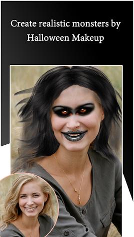 Halloween Makeup Photo Editor 2018 Screenshot
