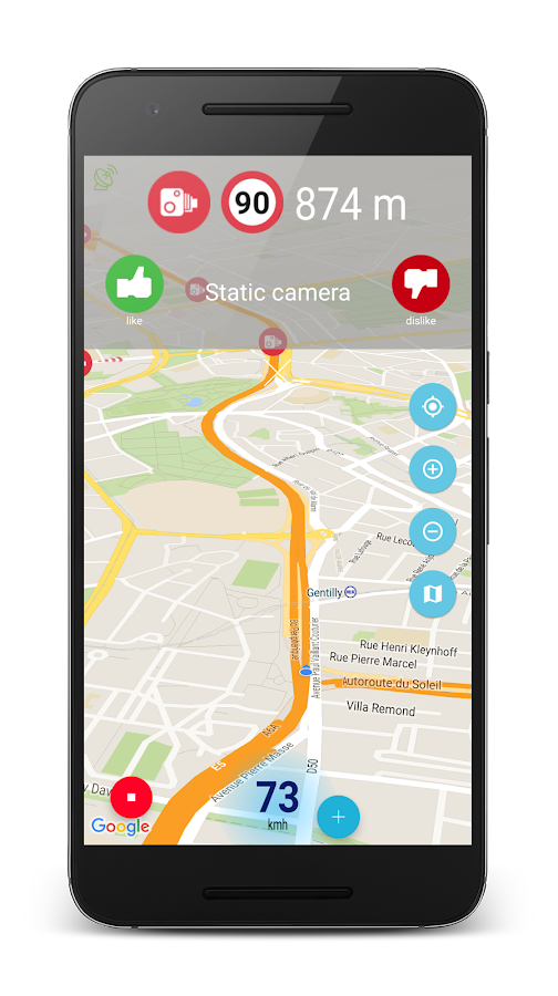 Speed camera radar (PRO) Screenshot 7