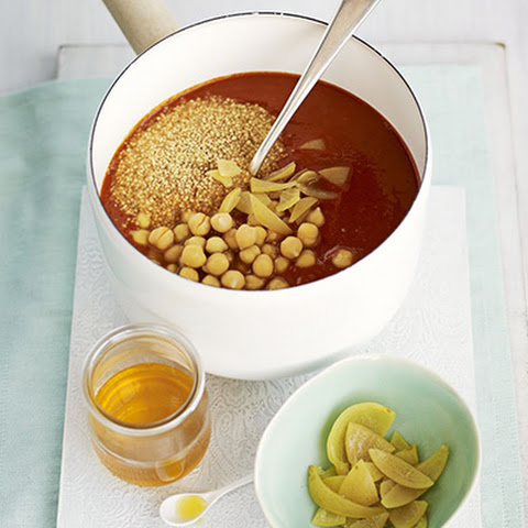 Moroccan Chickpea Soup